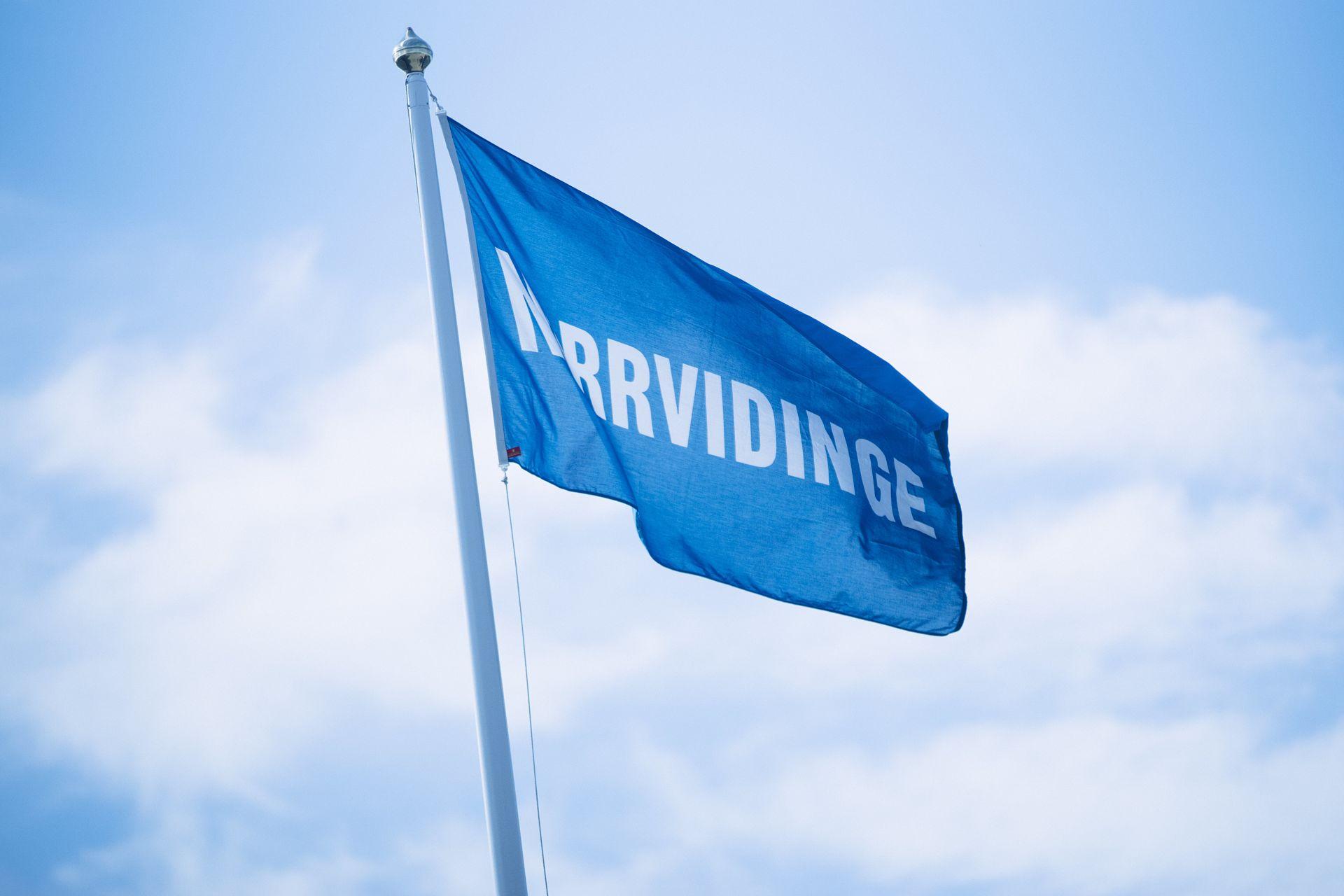 Norrvidinge flagga